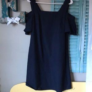 jCrew mercantile cold shoulder dress